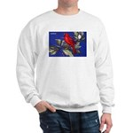 Northern Cardinal Bird (Front) Sweatshirt