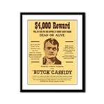 Butch Cassidy Framed Panel Print