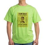 Butch Cassidy Green T-Shirt