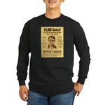 Butch Cassidy Long Sleeve Dark T-Shirt