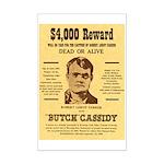 Butch Cassidy Mini Poster Print