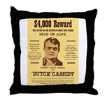 Butch Cassidy Throw Pillow