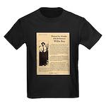 Wanted Willie Boy  Kids Dark T-Shirt