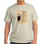 Wanted Willie Boy  Light T-Shirt