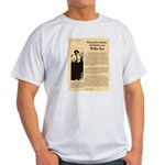 Wanted Willie Boy  Light T-Shirt
