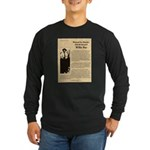 Wanted Willie Boy Long Sleeve Dark T-Shirt