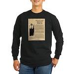 Wanted Willie Boy Long Sleeve Dark T-Shirt