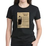 Wanted Willie Boy  Women's Dark T-Shirt