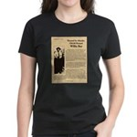 Wanted Willie Boy  Women's Dark T-Shirt