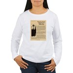 Wanted Willie Boy  Women's Long Sleeve T-Shirt