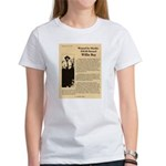 Wanted Willie Boy Women's T-Shirt