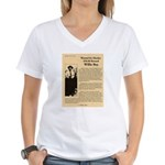 Wanted Willie Boy  Women's V-Neck T-Shirt