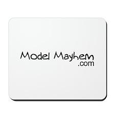 Model Mayhem Mousepad