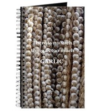 Lots of garlic Journal