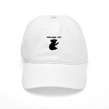 Custom Koala Silhouette Baseball Cap
