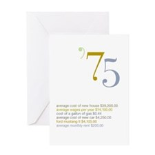 1975 Fun Facts Birthday Greeting Card