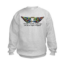 Pzzle Wing Kids Sweatshirt