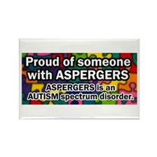 autism aspergers Rectangle Magnet (100 pack)