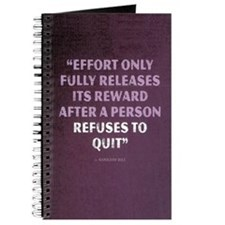 Effort - Motivational Quote Journal