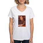 Paul Yaeger Architect Women's V-Neck T-Shirt