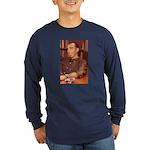 Paul Yaeger Architect Long Sleeve Dark T-Shirt