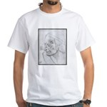 Voltaire by Paul Yaeger White T-Shirt