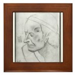 Voltaire by Paul Yaeger Framed Tile