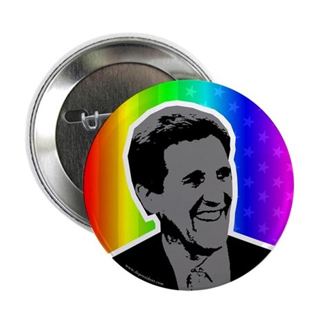 John Kerry rainbow flag buttons (10 pack).