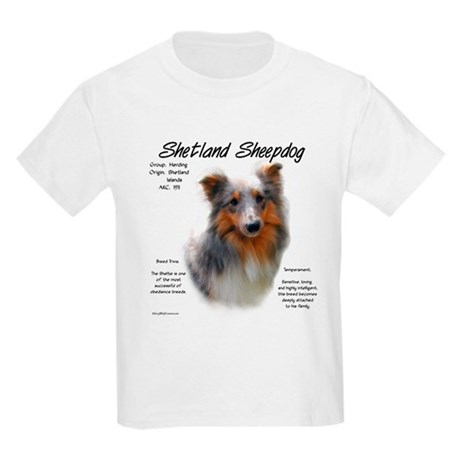 Shetland Sheepdog Kids Light T-Shirt