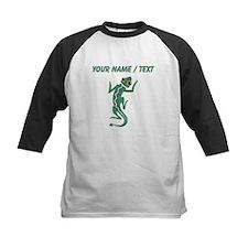 Custom Green Lizard Baseball Jersey