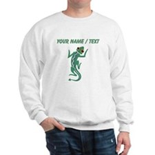 Custom Green Lizard Sweatshirt