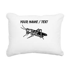 Custom Grasshopper Rectangular Canvas Pillow
