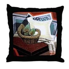 Juan Gris - Basket of Pears Throw Pillow