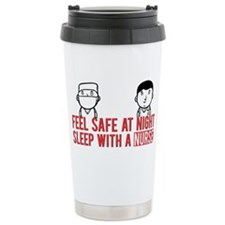 Feel Safe at Night..Sle Travel Mug