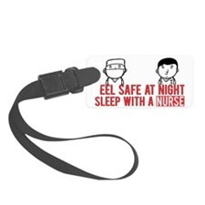 Feel Safe at Night..Sleep With a Small Luggage Tag