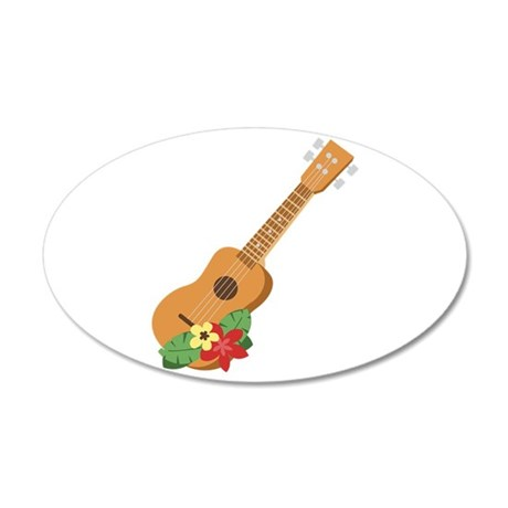 Ukulele Instrument Wall Decal