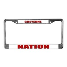 Cheyenne Nation License Plate Frame