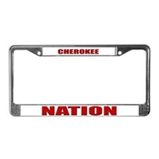 Cherokee Nation License Plate Frame