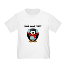 Custom Winter Penguin T-Shirt