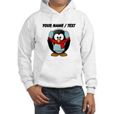 Custom Winter Penguin Hoodie