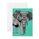 Elephant Greeting Cards (10 Pack)