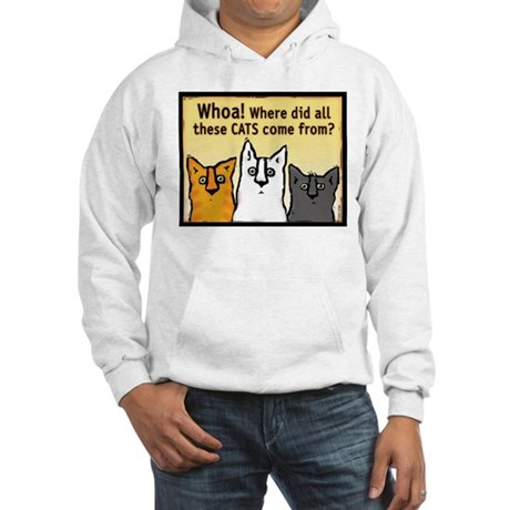 """Whoa!"" Hooded Sweatshirt"