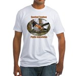Spotted Towhee Fitted T-Shirt
