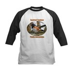 Spotted Towhee Kids Baseball Jersey