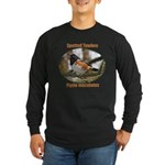 Spotted Towhee Long Sleeve Dark T-Shirt