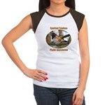Spotted Towhee Women's Cap Sleeve T-Shirt