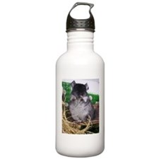 Baby black velvet chin Water Bottle