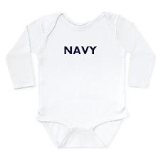 NAVY logo Body Suit