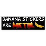 Banana Bumper Stickers 2.0 Bumper Bumper Sticker