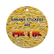 Banana Stickers 2.0 Ornament (Round)